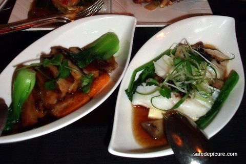 Pork Belly & Steamed Fish