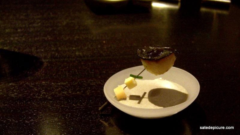 amazing potato and truffle with bol alinea. Black Bedroom Furniture Sets. Home Design Ideas