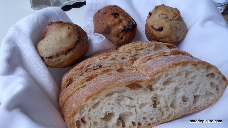 Ciabatta, Nut Muffins, Louie's Back Yard