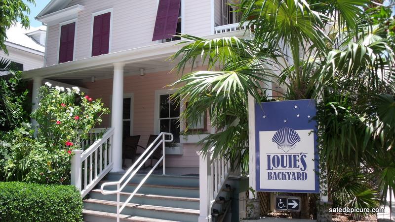Louie's Back Yard ~ Key West, FL / satedepicure.com