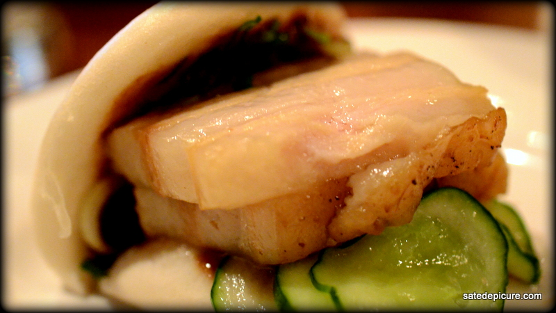 Steamed Pork Bun, Pork Belly, Hoisin, Cucumbers, Scallions