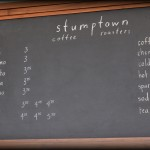 Stumptown Coffee Menu