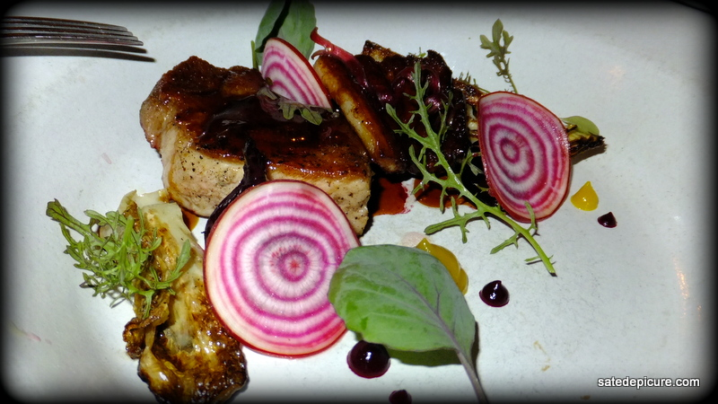 Duo of Berkshire Pork, Cabbage Roasted in Embers