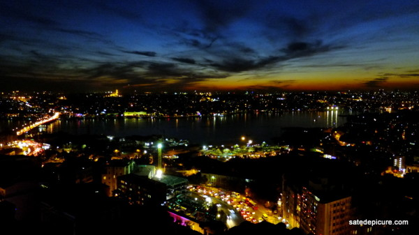 Dusk View of Istanbul from MKLA