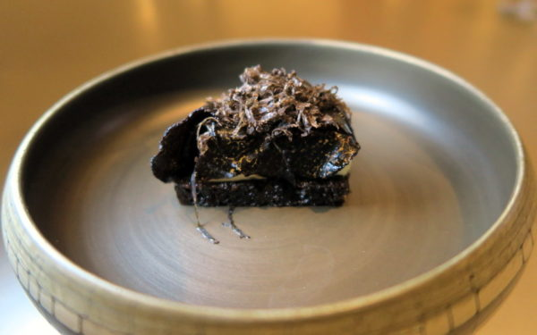 Gruyere, Black Truffle, Pumpernickel